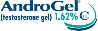 AndroGel (testosterone gel) 1.62% CIII Logo